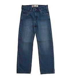 Levi's® 550™ 8-20 plus Husky sizes Relaxed Denim Blue Jeans For Boys - Catapult