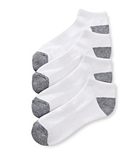 John Bartlett Statements Men's No Show Athletic Socks
