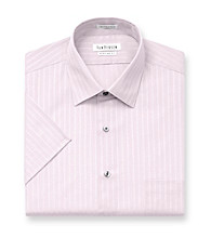 Van Heusen® Men's Melon Stripe Short Sleeve Dress Shirt
