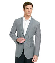 Kenneth Cole REACTION® Men's Blue Linen Sportcoat