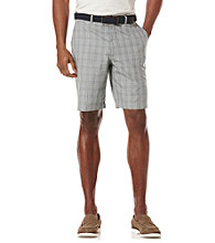 Perry Ellis® Men's Keystone Plaid Cotton Short