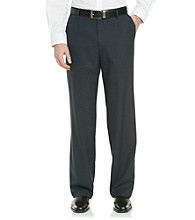 Haggar® Men's Navy Micro Plaid Classic Fit Repreve Dress Pant
