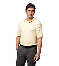 Van Heusen® Men's Printed Windowpane Polo