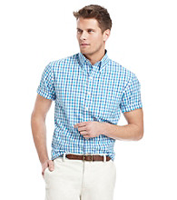 Izod® Men's Checkered Button Down Shirt