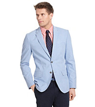 Izod® Men's Blue Revival Gingham Blazer