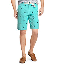 Izod® Men's Flat Front Star Short