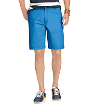 Izod® Men's Strong Blue Flat Front Saltwater Short