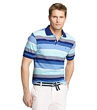 Izod® Men's Short Sleeve Oxford Engineered Polo