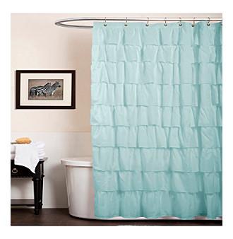 yellow microfiber shower curtain lush decor ruffle shower curtain