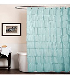 Lush Decor Ruffle Shower Curtain