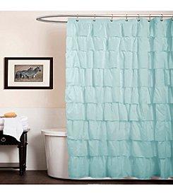Lush Decor Ruffle Shower Curtain