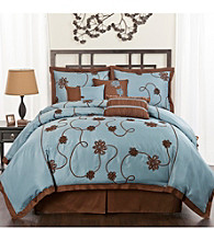 Flourish Garden 7-pc. Comforter Set by Lush Decor
