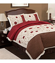 Royal Embrace 4-pc. Comforter Set by Lush Decor