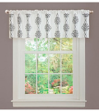 Lush Decor Isabella White Valance