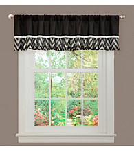 Lush Decor Shimmer White Valance