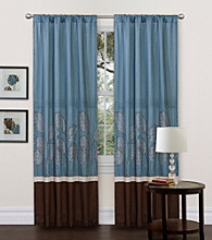 Lush Decor Lydia Blue Window Curtain