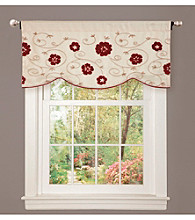 Lush Decor Royal Embrace Red Valance