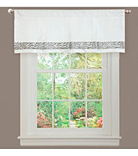 Lush Decor Urban Savanna Gray Valance