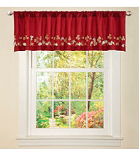 Lush Decor Flower Drop Valance