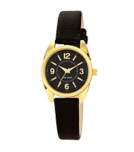 Nine West® Women's Classic Strap Black Watch