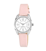 Nine West® Women's Classic Strap Pink Watch