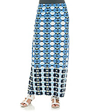 Skye's The Limit® Long Printed Skirt