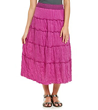 AGB® Crinkle Tiered Skirt