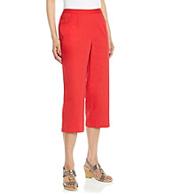 Breckenridge® Petites' Slash Pocket Capri