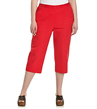 Breckenridge® Plus Size Slash Pocket Capri
