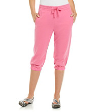 Exertek® Drawstring Cropped Pant