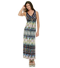 R&M Richards® Print Maxi Dress