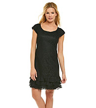 K. Studio® Lace Tiered Hem Dress