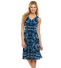 Anne Klein® Printed Swing Dress