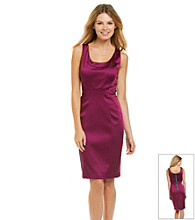 JAX® Satin Sheath Dress