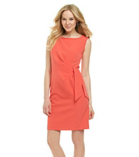 Anne Klein® Side-Tie Sheath Dress