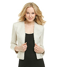 Anne Klein® Tweed Jacket