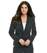 Le Suit® Tonal Stripe Jacket