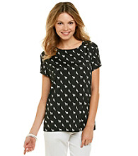 Nine West® Printed Top