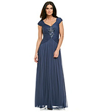 Adrianna Papell® Chiffon Beaded Dress