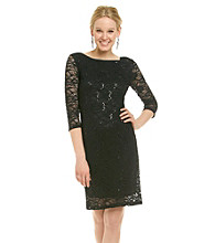 Marina Lace Boatneck Dress