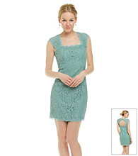 Adrianna Papell® Lace Envelope Back Dress