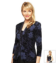 Alex Evenings® Buttonfront Twin Set