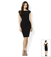 Lauren by Ralph Lauren® Side Ruched Sheath Dress