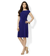 Lauren by Ralph Lauren® Boatneck Sheath Dress