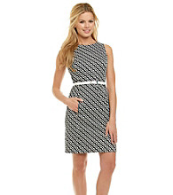 Anne Klein® New Wave Zipper Sheath Dress