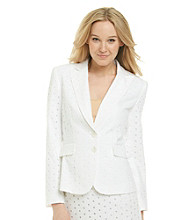 Tahari by Arthur S. Levine® Eyelet Fashion Jacket