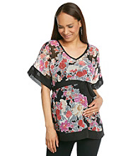 Three Seasons Maternity™ Sheer Chiffon Top