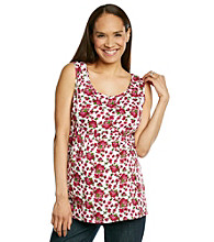 Three Seasons Maternity™ Rose Print Top