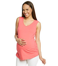 Three Seasons Maternity™ Side-Ruched Tank