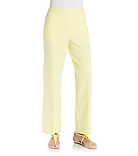 Alfred Dunner® Petites' Walking On Sunshine Capri
